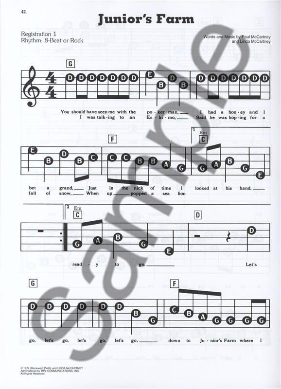 Mccartney, Paul - EZ Play Today The Songs Of Paul MAcCartney 2nd edition