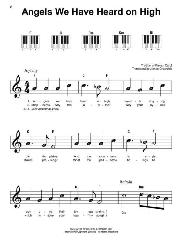 Christmas Carols - Super Easy Songbook