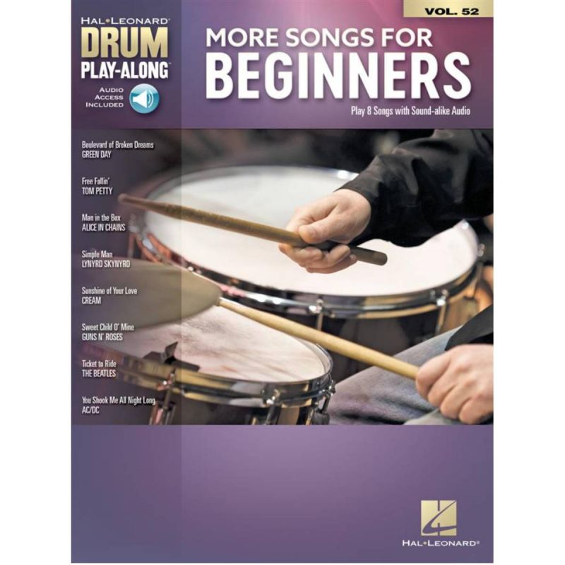 More Songs for Beginners (Drums)