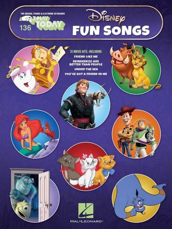 E-Z Play Today - Disney Fun Songs (Volume 136)