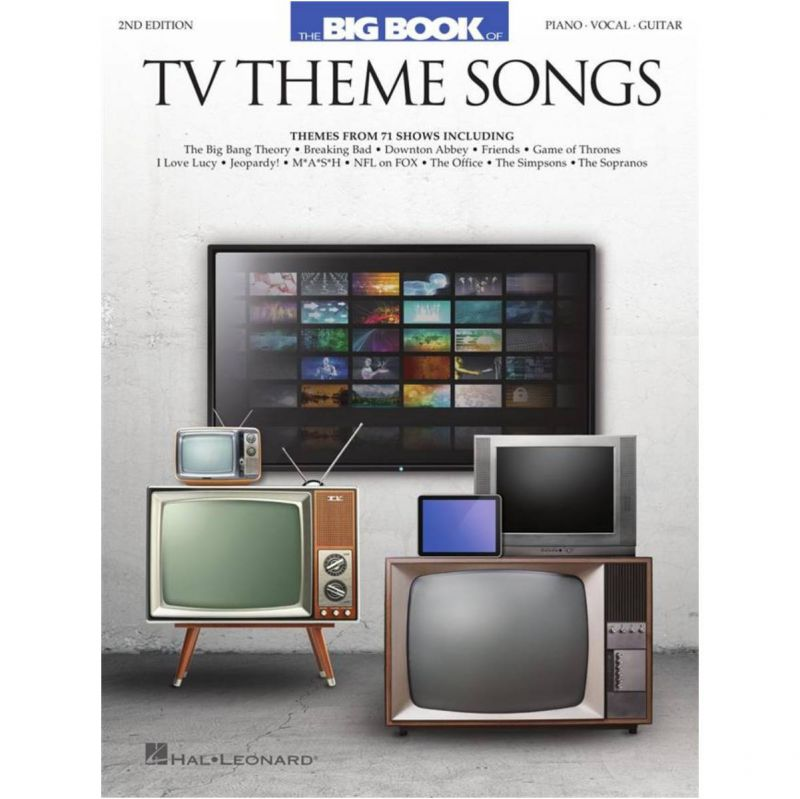 Big Book of TV Theme Songs (Piano Vocal Guitar)