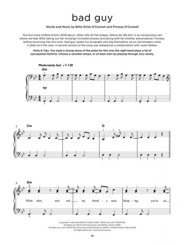 Really Easy Piano - Chart Hits Vol. 9 (Autumn/Winter 2019)