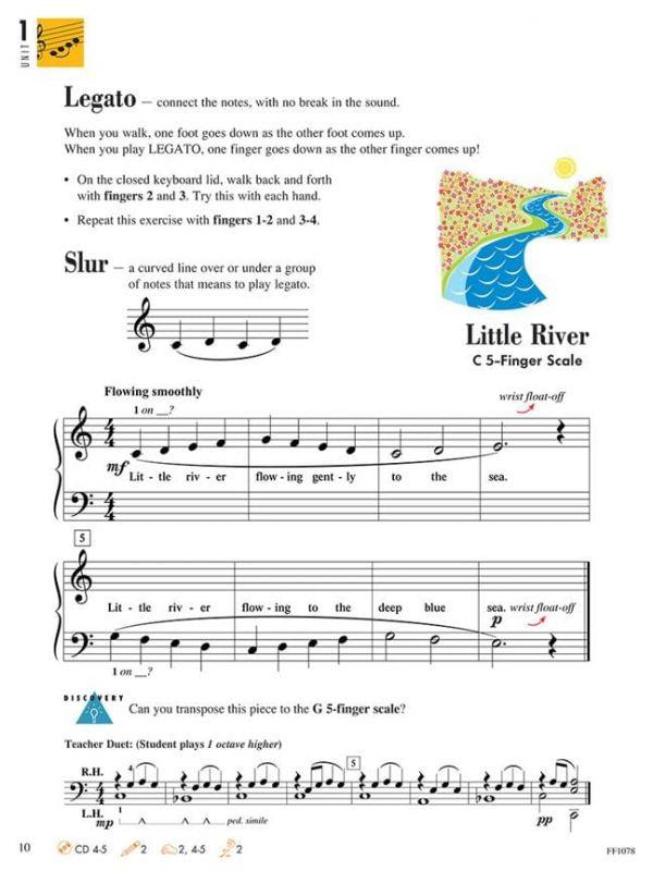 Piano Adventures Lesson Book Level One