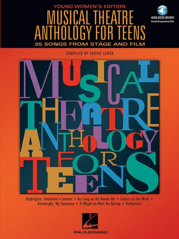 Louise Lerch - Musical Theatre Anthology for Teens