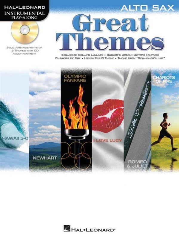 Great Themes Alto Sax (Bk CD)