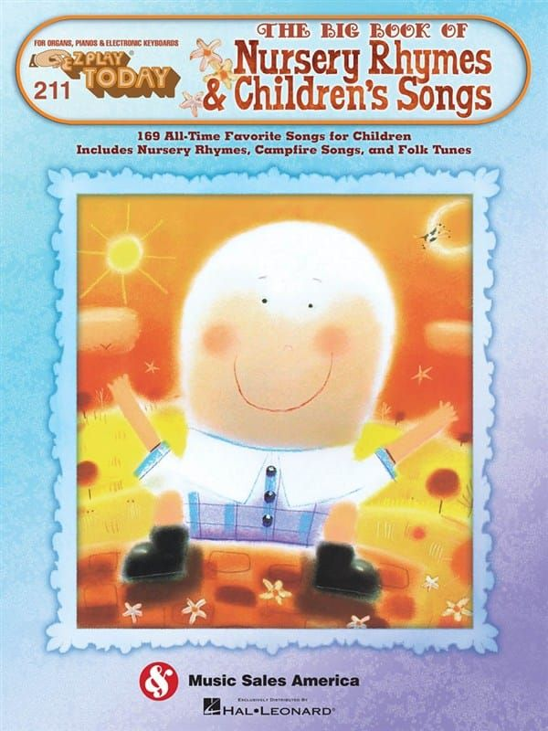 EZ Play Today Nursery Rhymes and Children's Songs