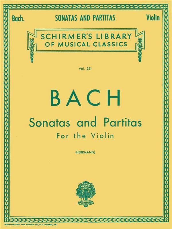Bach, Johann Sebastian - J S Bach Sonatas And Partitas For The Violin