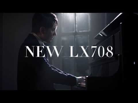 Roland LX708-CH Home Piano In Charcoal Black