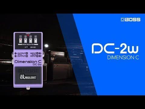 Boss DC-2W Dimension C Wazacraft Pedal