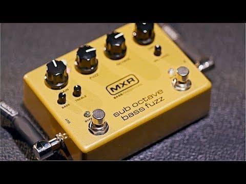 MXR M287 Sub Octave Bass Fuzz Pedal