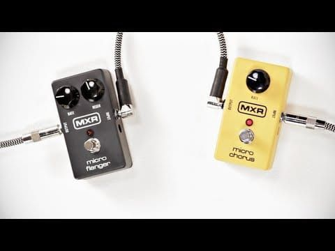 MXR Micro Flanger Effects Pedal