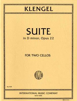 Klengel - Klengel Suite D minor Op. 22 for 2 Cellos