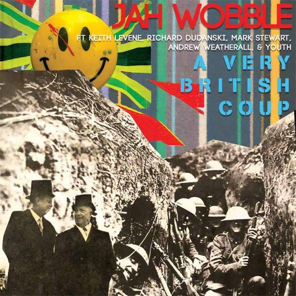 JAH WOBBLE - A VERY BRITISH COUP - VINYL