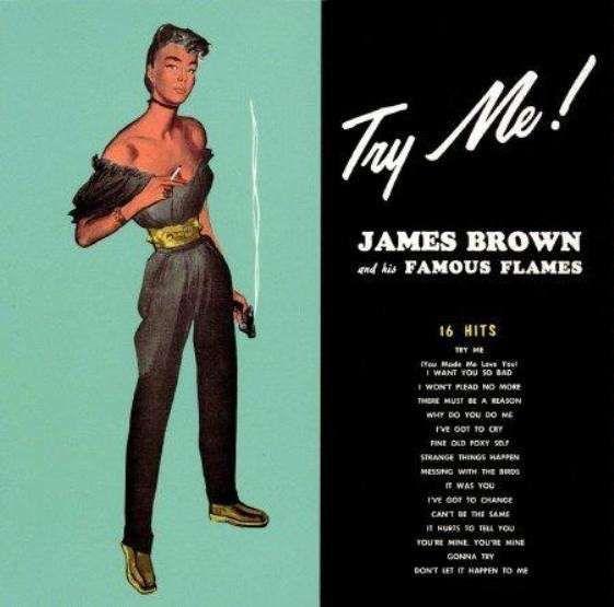 JAMES BROWN - TRY ME - VINYL