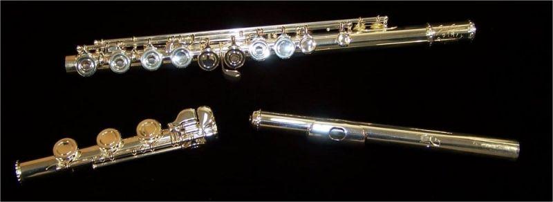 James Galway JG3E Spirit Flute, Solid Silver Head, Open Hole