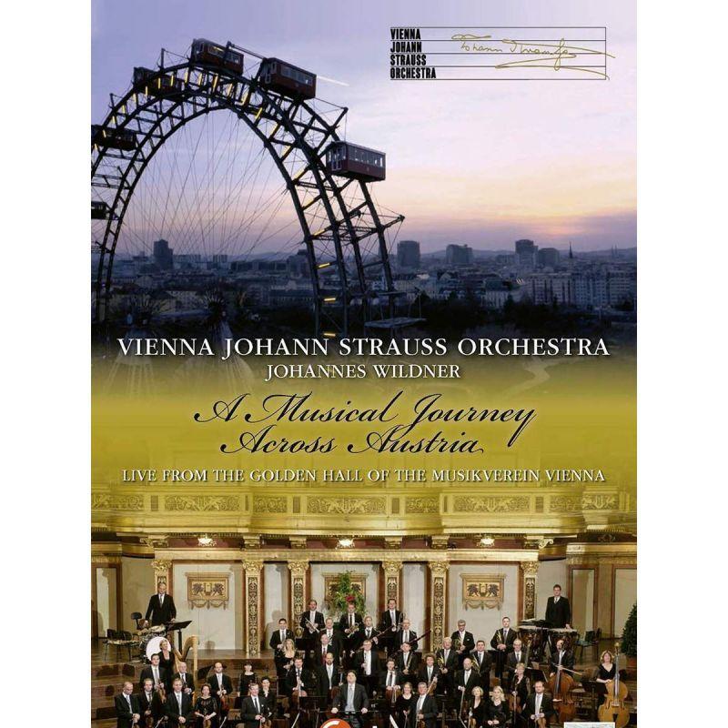 VIENNA JOHANN STRAUSS ORCH - A MUSICAL JOURNEY ACROSS AUSTRIA (DVD)
