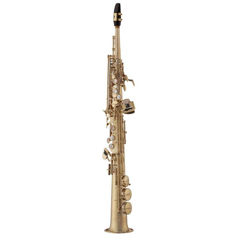 Yanagisawa Soprano Saxophone, Brass, Unlacquered (SWO1U)