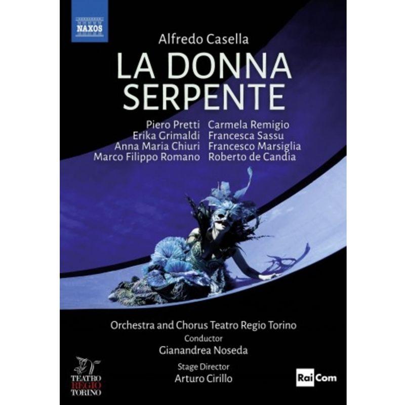 TEATRO REGIO TORINO/NOSEDA - CASELLA/LA DONNA SERPENTE (DVD)