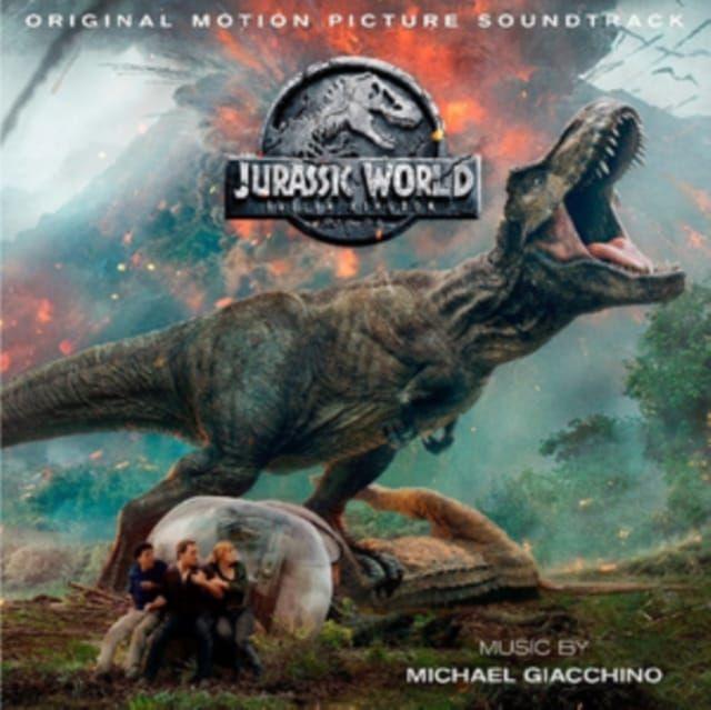 MICHAEL GIACCHINO - JURASSIC WORLD - FALLEN KINGDOM - OST - 2LP VINYL