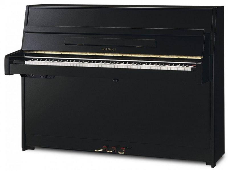 Kawai K15 ATX3L Ebony Polish Silent Piano