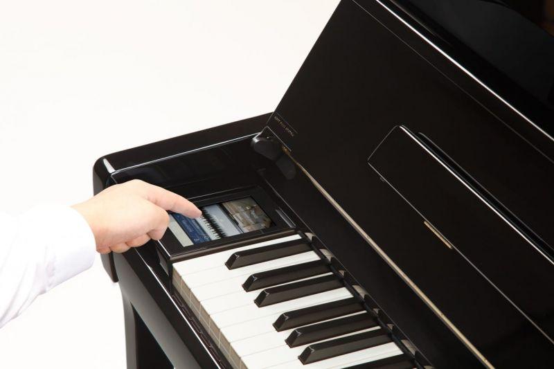 Kawai K200 ATX3 Ebony Polish Silent Piano