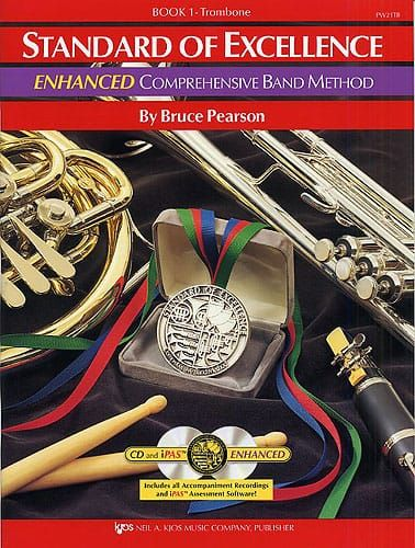 Pearson, Bruce - Standard Of Excellence Enhanced Comprehensive Band Method Book 1 (Trombone Bass Clef)