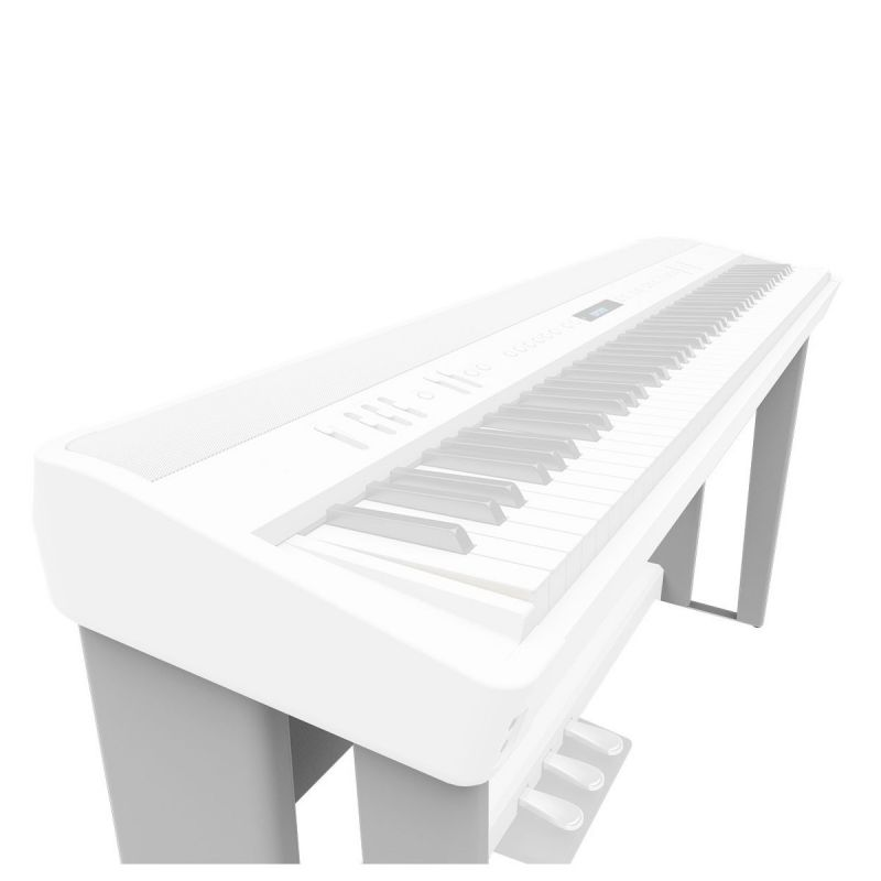 Roland KSC90 White Piano Stand for FP90