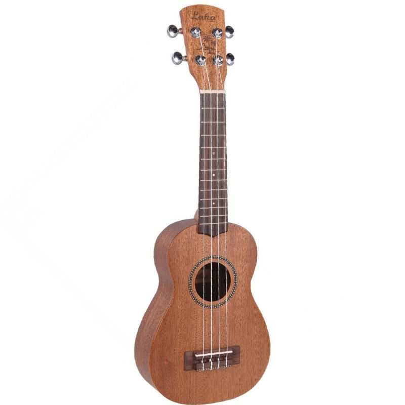 Vintage Laka Series Soprano Acoustic Ukulele Solid Mahogany