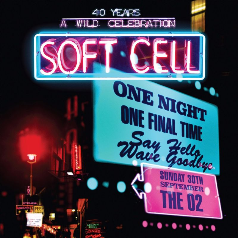 SOFT CELL - SAY HELLO WAVE GOODBYE - DVD