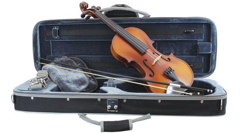 Primavera Loreato Violin Outift Full Size, with Silver Set up