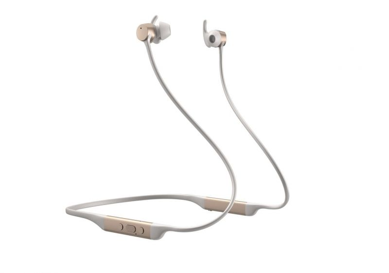 Bowers and Wilkins PI4 headphones, gold