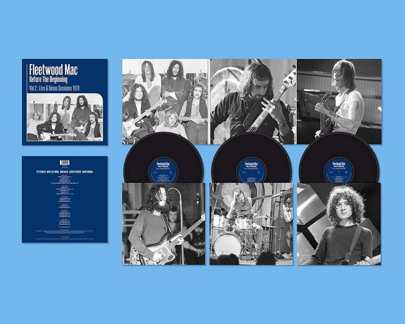 FLEETWOOD MAC - BEFORE THE BEGINNING - 1968-1970 RARE
