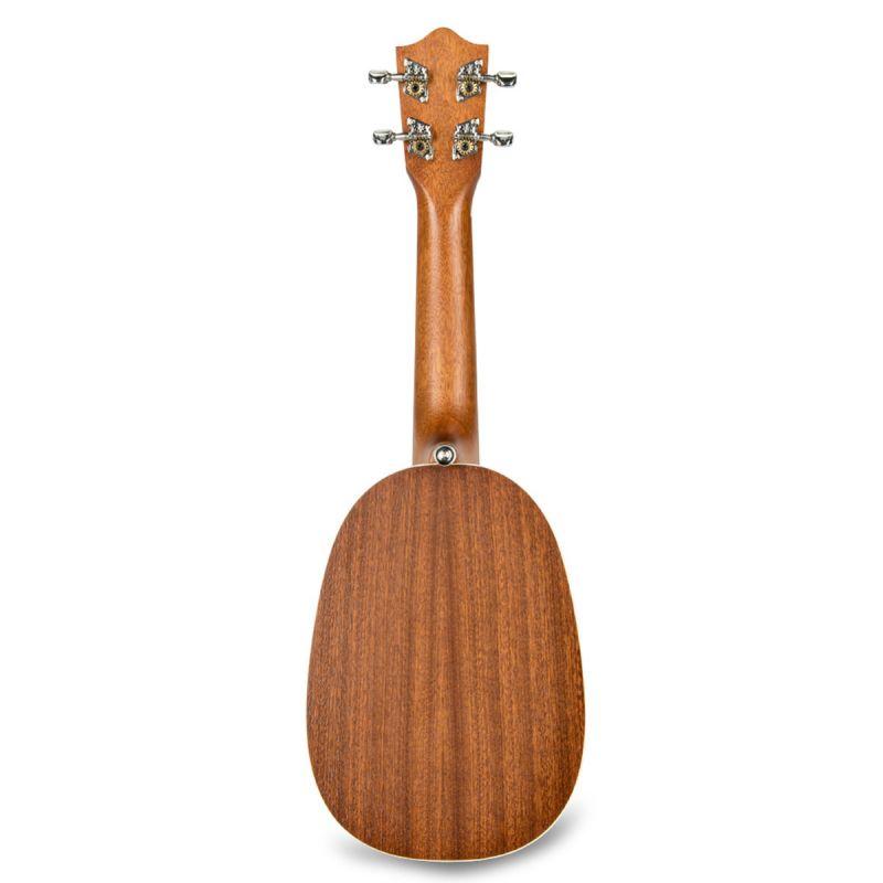 Lanikai MA-P Soprano Pineapple Ukulele, mahogany, inc. gig bag