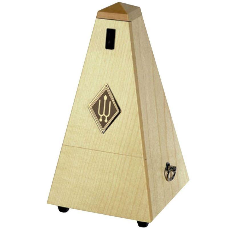 Wittner W807A Wooden Pyramid Metronome, Matt Maple Blonde Finish