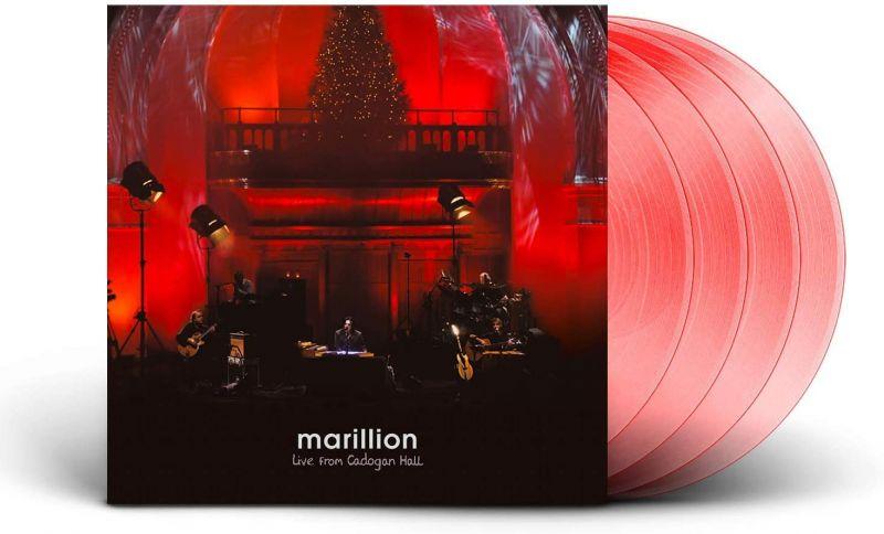 MARILLION - LIVE FROM CADOGAN HALL - 4LP RED VINYL - NAD20