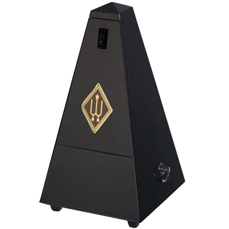 Wittner W806M Wooden Pyramid Metronome, Matt Black Finish