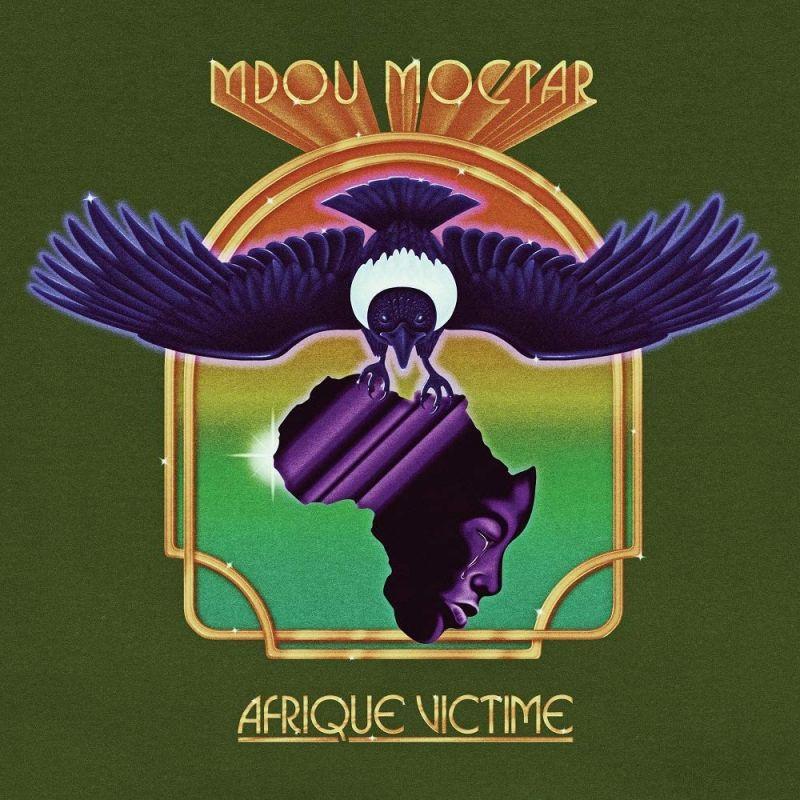 MDOU MOCTAR - AFRIQUE VICTIME - purple vinyl
