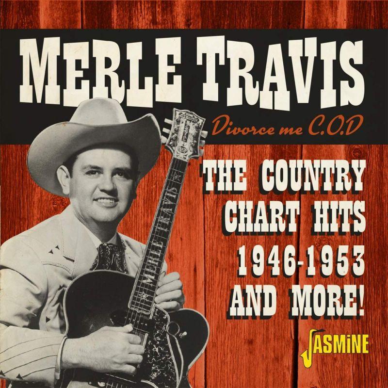 MERLE TRAVIS - DIVORCE ME C.O.D. - CD