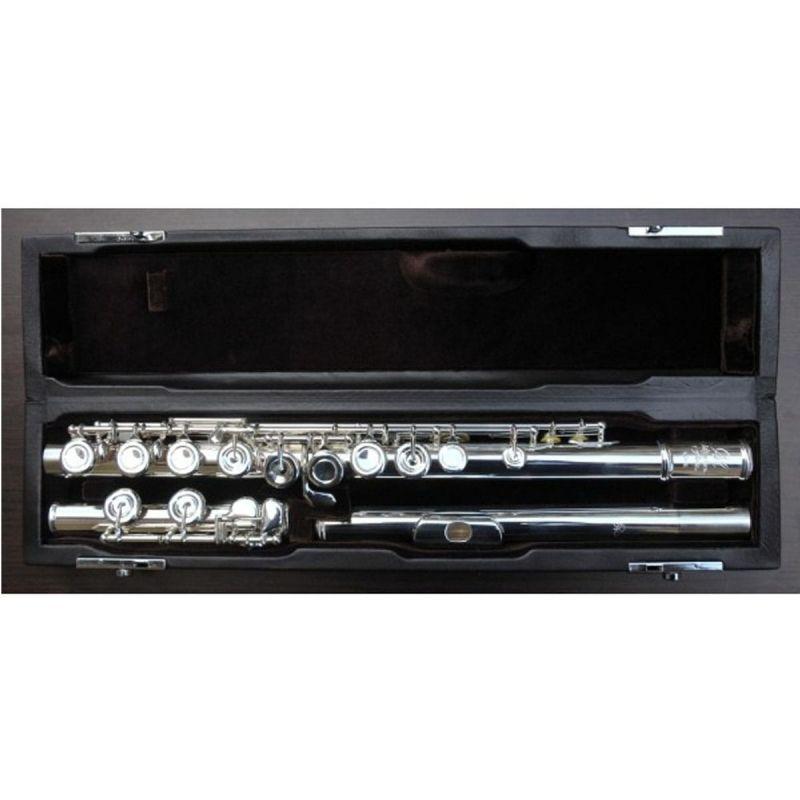 Miyazawa MJ101E Flute, Silver Lip-plate