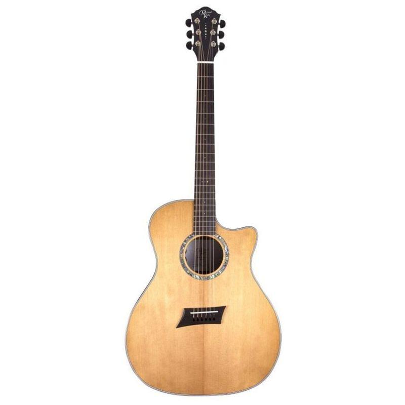 Michael Kelly 3D Grand Audit Elec Acous Guitar - Natural