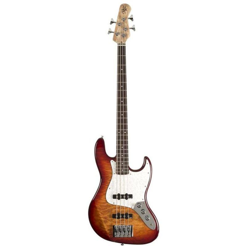 Michael Kelly Element 4Q Bass Guitar - Aged Cherryburst