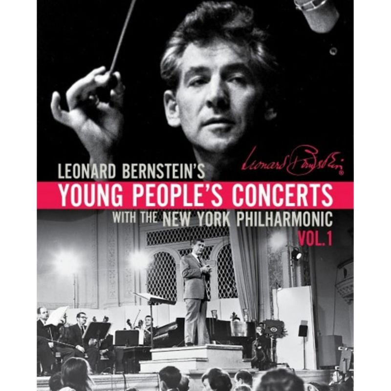 NYPO/BERNSTEIN - YOUNG PEOPLES CONCERTS (DVD)