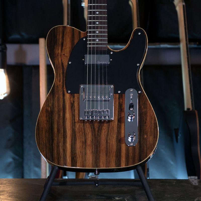Michael Kelly 1955 Custom Electric Guitar - Striped Ebony