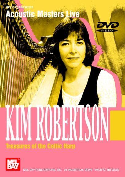 Robertson, Kim - Treasures of the Celtic Harp (Book + Online Video)