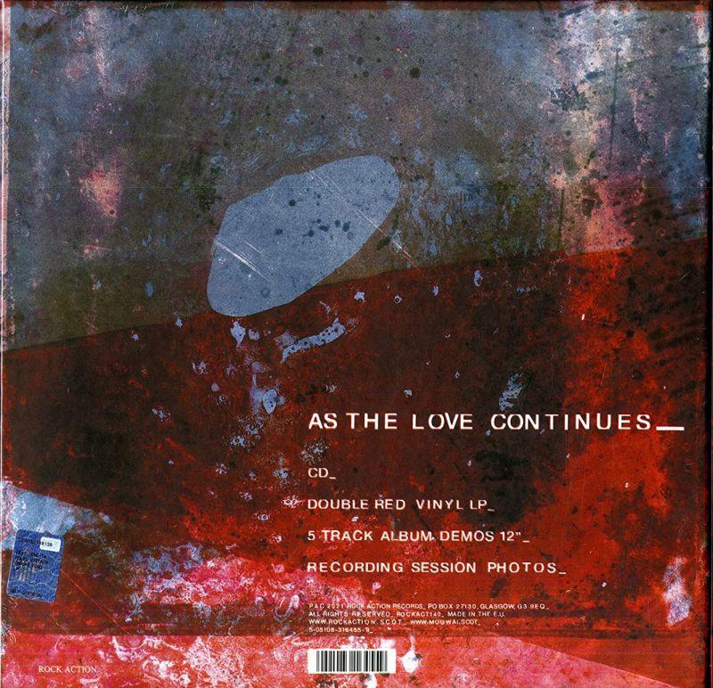MOGWAI - AS THE LOVE CONTINUES - 2LP RED VINYL + DEMOS