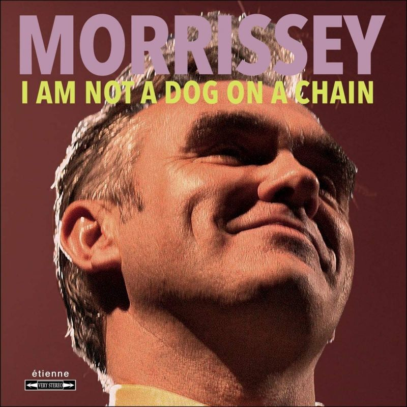MORRISSEY - I AM NOT A DOG ON A CHAIN - INDIE EXCLUSIVE - CLEAR RED VINYL