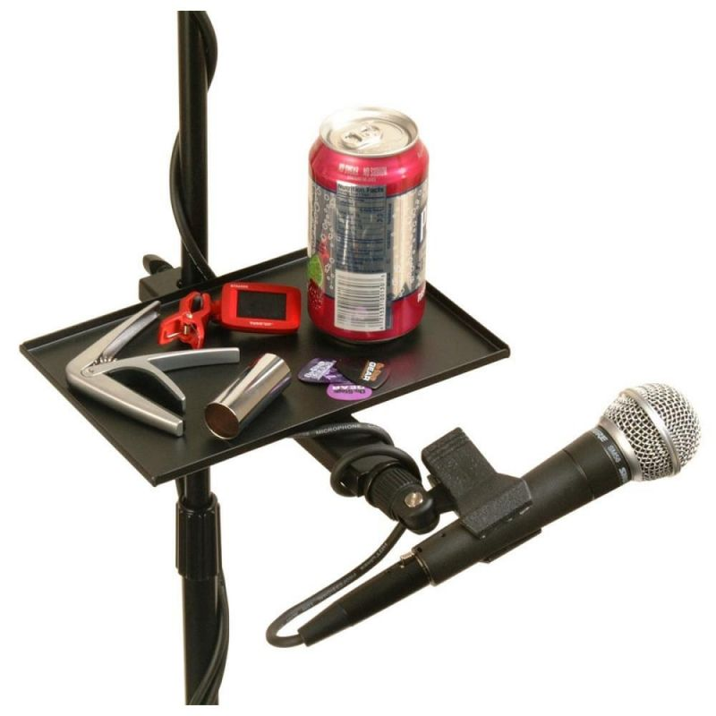 On Stage U-Mount Mic Stand Tray