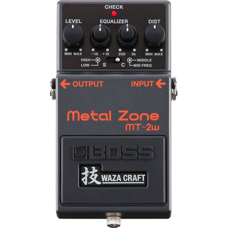 Boss MT-2W Metal Zone Wazacraft Pedal
