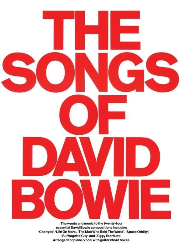 Bowie, David - The Songs Of David Bowie