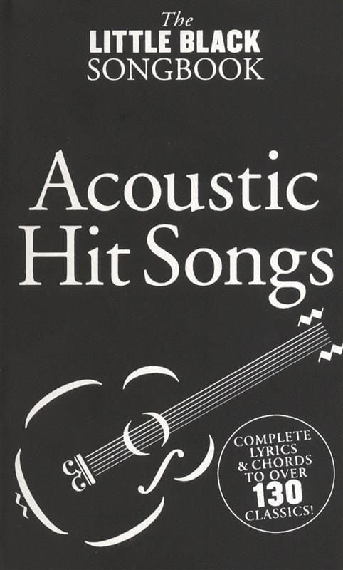 Various - The Little Black Songbook Of Acoustic Hits